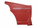 1969 Rear Side Panels Set, Standard Interior, Coupe, Pre-Assembled, Pair