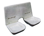 1982 - 1992 Camaro Rear Seat Foam Set, Solid Back