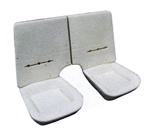 1982 - 1992 Camaro Rear Seat Foam Set, Split Back