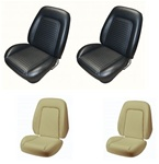 1969 Camaro Custom TMI Original Sport Seat Front Seat Covers and Foam Set, Standard Interior