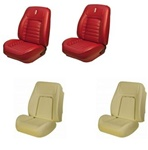 1968 Camaro Custom TMI Original Sport Seat Front Seat Covers and Foam Set, Deluxe