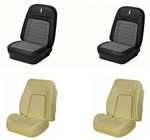 1968 Camaro Custom TMI Original Sport Seat Front Seat Covers and Foam Set, Deluxe Houndstooth