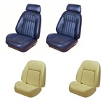 1969 Camaro Custom TMI Original Sport Seat Front Seat Covers and Foam Set, Deluxe Comfortweave