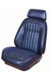 1969 Sport Seat Covers Set (TMI), Front Buckets, Deluxe Custom Comfortweave, Pair