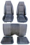 1976 Front and Rear Seats Set, Type LT / Deluxe - Original GM Used
