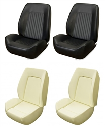 1967 - 1968 Camaro Custom TMI Sport II Seat Front Seat Covers and Foam Set, Standard Interior