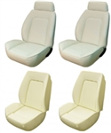 1969 Camaro Custom TMI Sport II Seat Front Seat Covers and Foam Set, Standard Interior