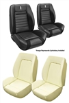 1968 Camaro Custom TMI Sport R Seat Upholstery Covers and Foam Set, Deluxe Custom Interior