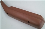 1974 - 1981 Door Panel Arm Rest with Pull Handle, Camel Tan, RH, GM 9666122 9666124