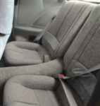 1988 - 1992 Camaro Deluxe Split Rear Seat Cover Set with Accent Strip