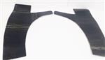 1970 - 1981 Camaro Inner Quarter Rear Side Panel Insulation, Pair