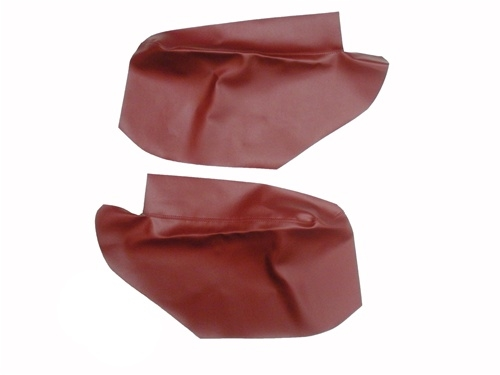 1967 1969 Camaro Rear Side Panel Lower Arm Rest Covers