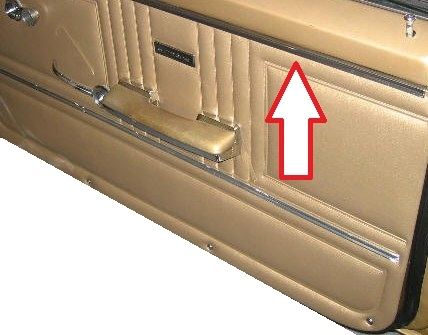 1967 camaro front upper door panel stainless steel trim molding standard interior 7639888 each. Black Bedroom Furniture Sets. Home Design Ideas