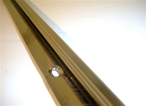 Beau 1967 Camaro Front Upper Door Panel Stainless Steel Trim Molding, Standard  Interior 7639888, Each