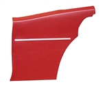 1968 Camaro Deluxe Interior Rear Side Panels Set for Coupe, Pre-Assembled