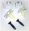 1982 - 1992 Camaro Interior Pillar Post Trim Clip and Hardware Set for T-top or Convertible Models