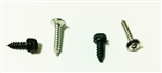 1970 - 1981 Inner Pillar Post Trim Molding Screws Set, Chrome