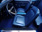 1968 Master Interior Kit, Standard, Convertible, Pre-Assembled Door Panels