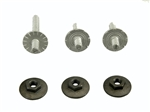 1967 - 1969 Camaro Quarter Window Track Adjustment Screw Stud Set