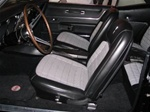 1968 Camaro Interior Kit, Deluxe Coupe Houndstooth, Stage 1