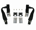 1968 - 1969 Seat Belt Set, Shoulder, Deluxe, OE Style, Pair