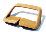 1974 - 1976 Camaro Seat Belt Side Shoulder Guide, Tan