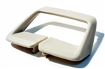 1974 - 1976 Camaro Seat Belt Side Shoulder Guide, White