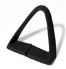 1977 - 1981 Seat Belt Shoulder Side Guide, Black