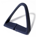 1977 - 1981 Seat Belt Shoulder Side Guide, Blue