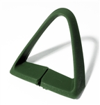 1977 - 1981 Seat Belt Shoulder Side Guide, Green