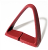 1977 - 1981 Seat Belt Shoulder Side Guide, Red