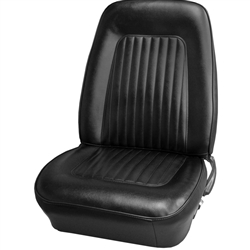 1967 - 1968 Camaro Standard Interior Front Buckets and Rear Seat Cover Upholstery Set