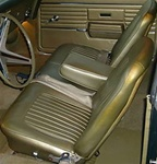 1967 - 1968 Seat Covers Set, Front Bench and Rear, Standard
