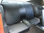 1970 Camaro Standard Rear Seat Covers Set
