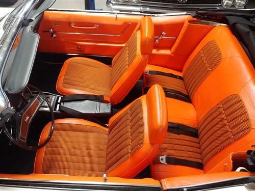 1969 Camaro Houndstooth Deluxe Interior Kit Convertible