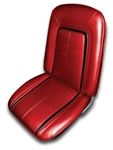 1967 Deluxe Front Bucket Seat Covers Set