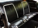 1967 Camaro Rear Back Seat Covers Set for Deluxe Interior