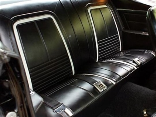 1967 Camaro Rear Seat Covers Set Deluxe