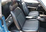 1969 Camaro Deluxe Comfortweave Front and Rear Seat Covers Upholstery Set