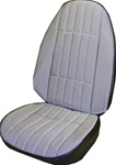 1971 Camaro Front Bucket Seat Covers Set, Deluxe, Checkerboard Cloth