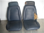 1969 Camaro Front Bucket Seat Assemblies, Used Original GM