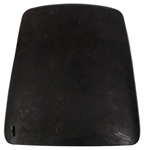 1967 Camaro Metal Bucket Seat Back Panel Left Hand - Original GM Used