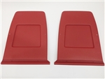 1971 - 1977 Camaro Front Bucket Seat Back Panels, Colors, Pair