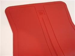 1973-1981 O.E GM Style Floor Mats Dark Red 4 Piece Set