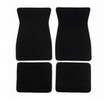 1967 - 1969 Camaro Floor Mats Set, Front and Rear, Carpeted with Grippers, Choose your color, 80/20 Loop