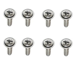 1978-1981 Camaro T-Top Outer Side Plastic Rail Trim Screws