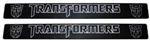 2010 - 2011 Two Tone (Chrome and Black) Transformers Autobot Logo Door Sill Plates
