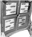 1967 - 1969 Headliner Heat and Sound Deadening Insulation (Dynamat Xtreme)