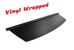 1970 - 1976 Camaro Custom BLACK Vinyl Covered Wrapped Rear Window Package Tray, Madrid Grain