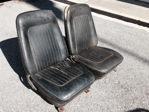 Stupendous 1967 1968 Camaro Front Bucket Seat Assemblies Set Onthecornerstone Fun Painted Chair Ideas Images Onthecornerstoneorg
